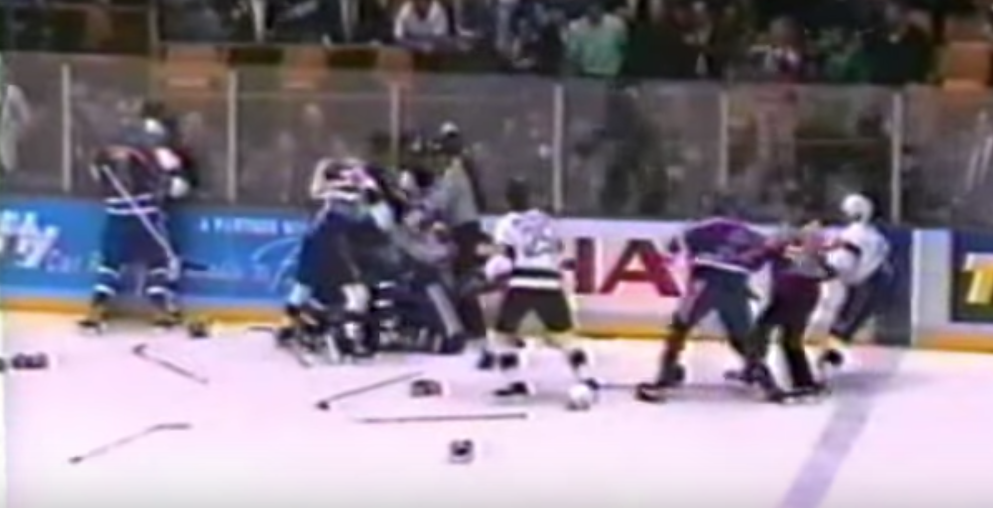 On This Day Oilers And Kings Set A Penalty Record