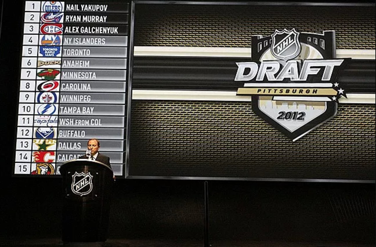 8a798e4bfb9 Recapping the 7-15th overall picks from the 2012 NHL Draft