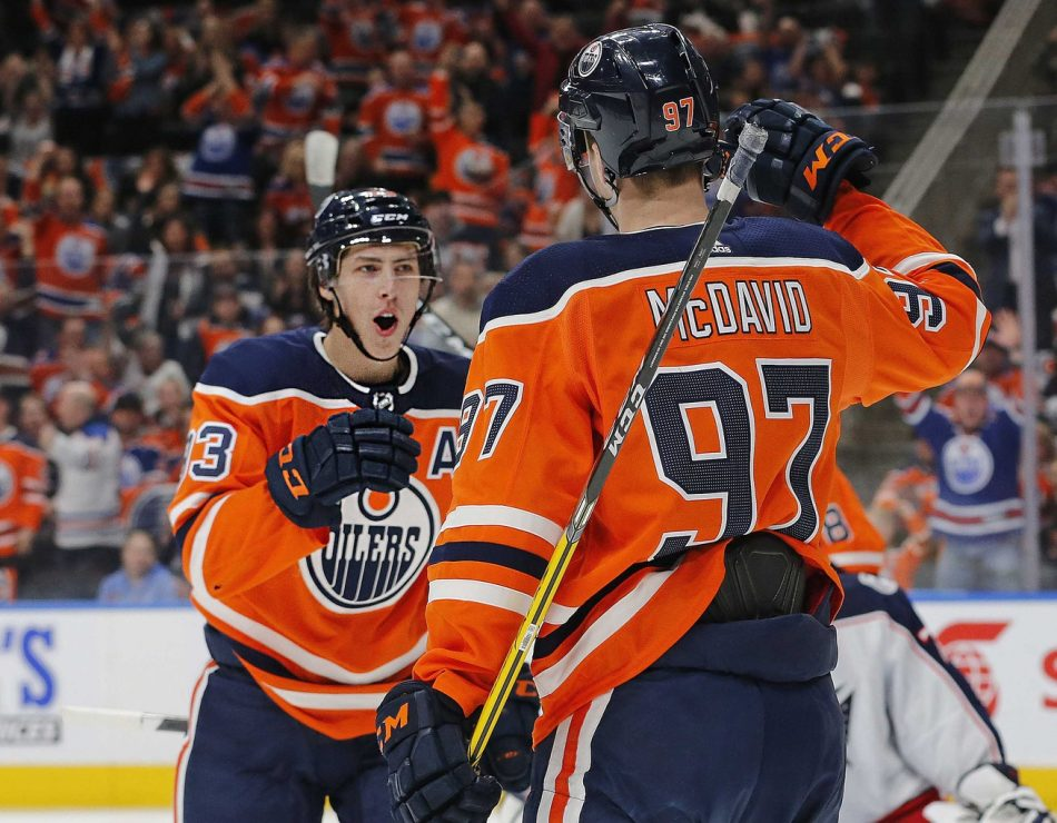 High Low Point Predictions  Edmonton Oilers Top Six Wingers 6bc625757