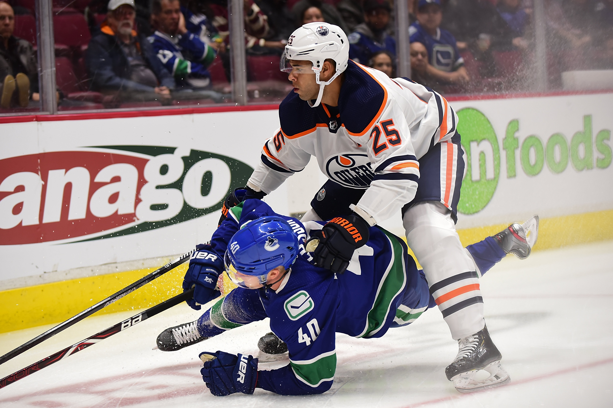 Draisaitl conquers Canucks' tough defence to restore Oilers' division lead