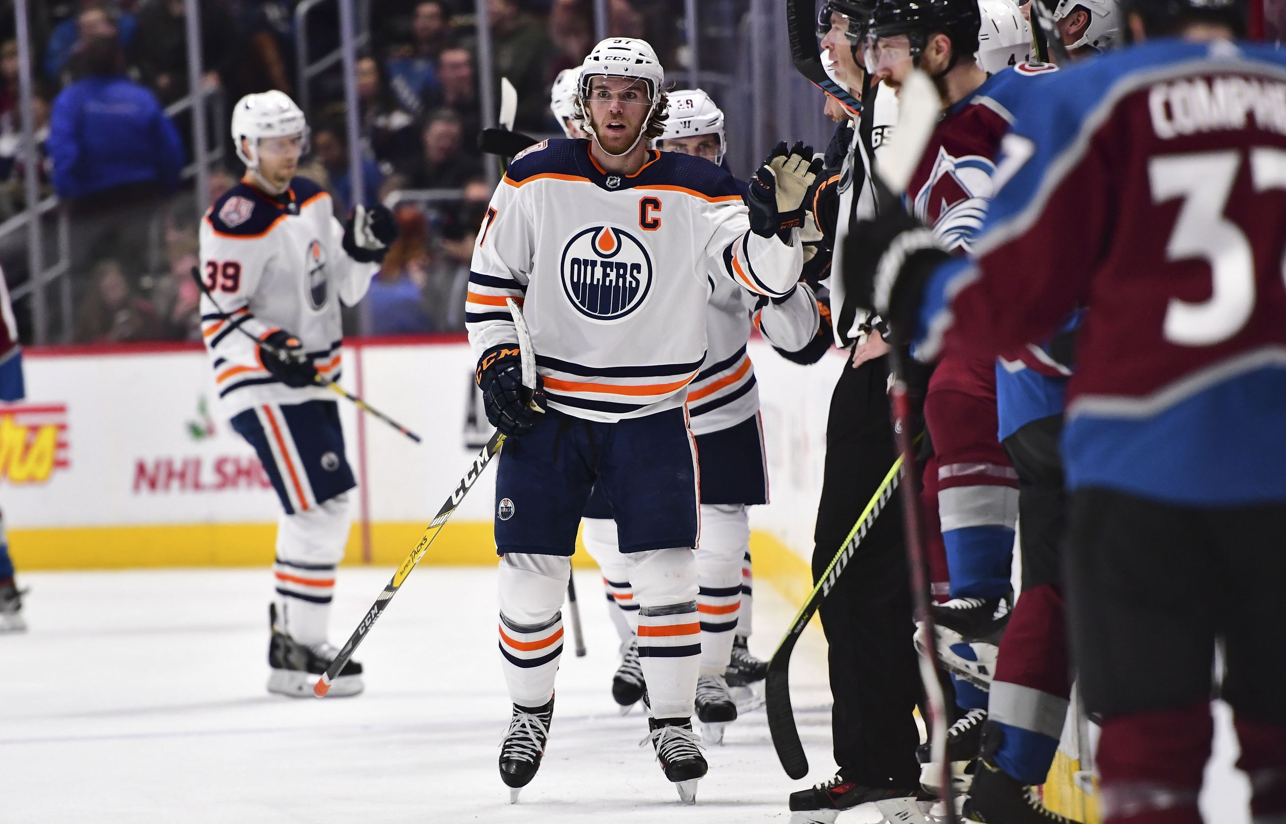 McDavid's career-best single-game point total leads Oilers past Avalanche
