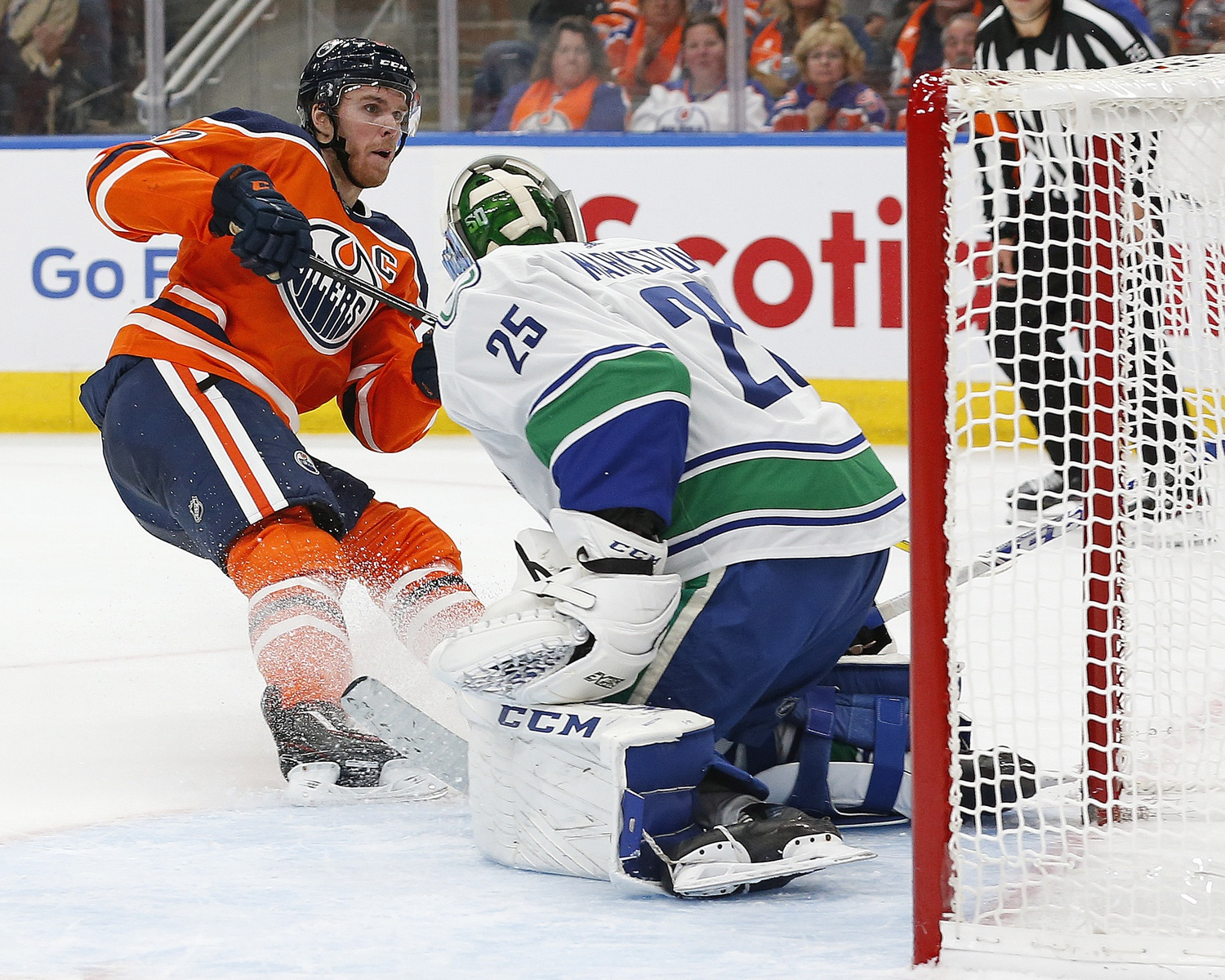 Vancouver visits Draisaitl and the Oilers