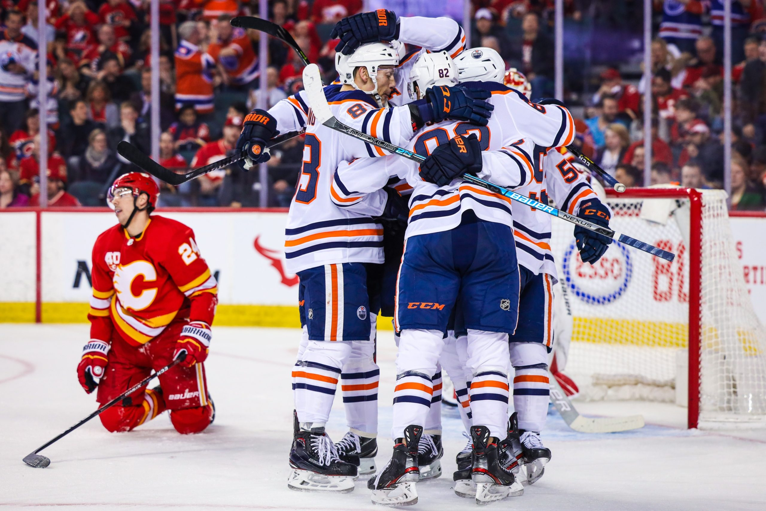 Game Preview 1 0 Edmonton Oilers Vs Calgary Flames 8 30pm Mt Snw