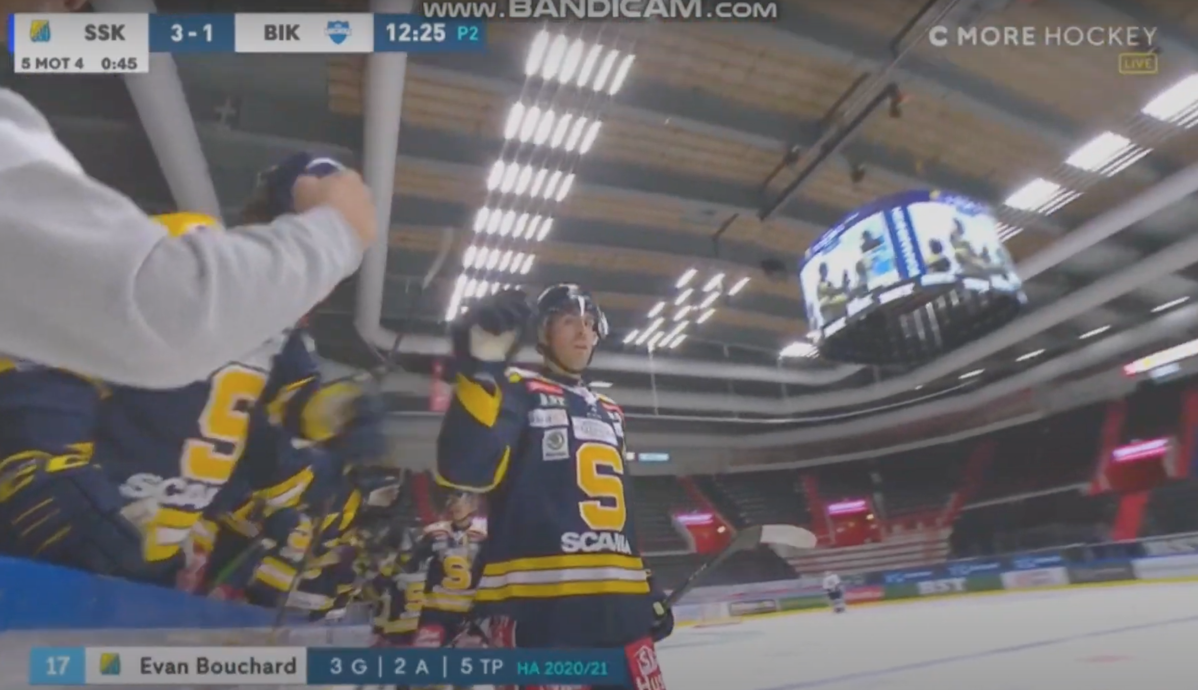 Watch Evan Bouchard And Raphael Lavoie Both Score For Allsvenskan Clubs