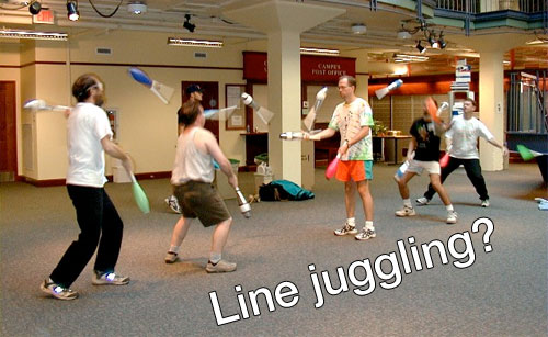 linejuggling