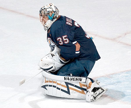 Edmonton Oilers goaltender Dwayne Roloson starts his 26th straight game tonight against the Colorado Avalanche